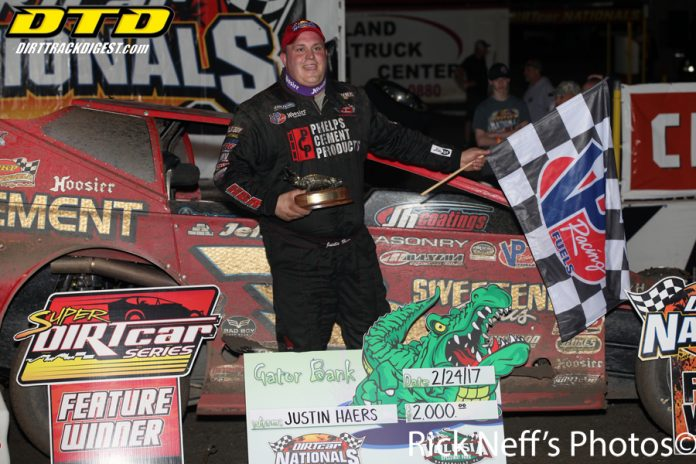 HAERS GRABS GATOR AT VOLUSIA
