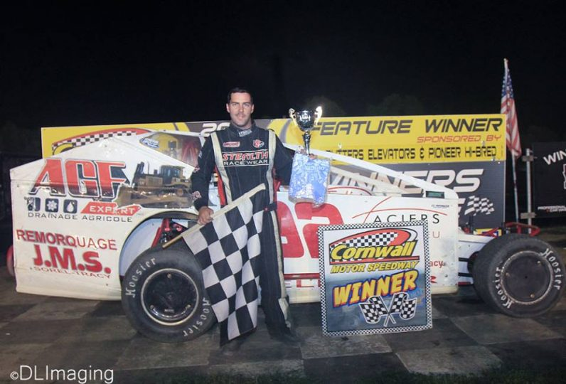 Martin Pelletier Dominates the DIRTcar Sportsman Series race at Cornwall