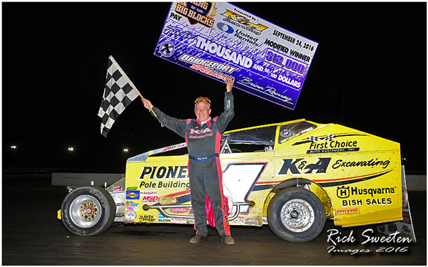 PAUCH RACES TO KING OF THE BIG BLOCKS TITLE