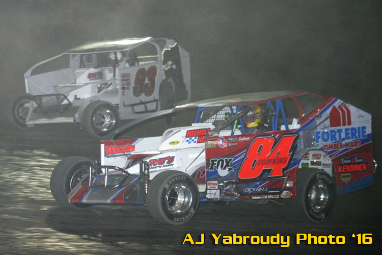 Tomkins Scores Victory At Rolling Wheels And Tops Off All BRP Top 3