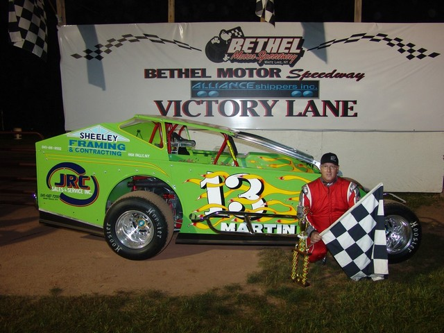 Jeff Mastrocola Wins At Bethel Motor Speedway