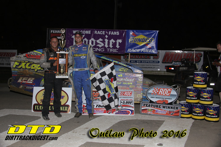 Matt Sheppard wins Jack Johnson ROC 60 at Fonda Speedway