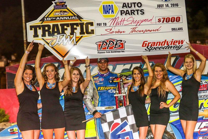 Matt Sheppard Dominates Grandview Speedway