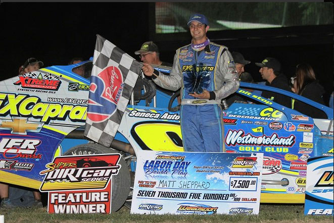 Super Matt Cashes in Lucrative Labor Day Weekend; Captures Eighth Super DIRTcar Series Win of the Season