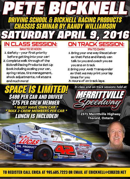 Chassis Seminar By Randy Williamson