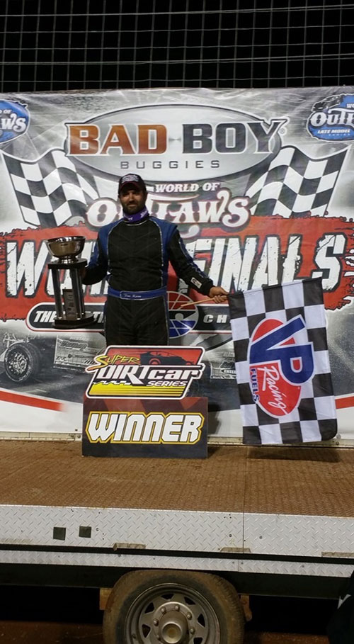 Tim Kerr Scores Win At Bad Boy Buggies World Finals