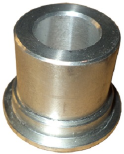 1 SINGLE RUBBER FLOOR ALUM.BUSHING