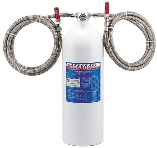 10# Fire Suppression System,  Automatic / Manual,