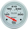 140-300 DEGREE PRO COMP OIL TEMP. GAUGE