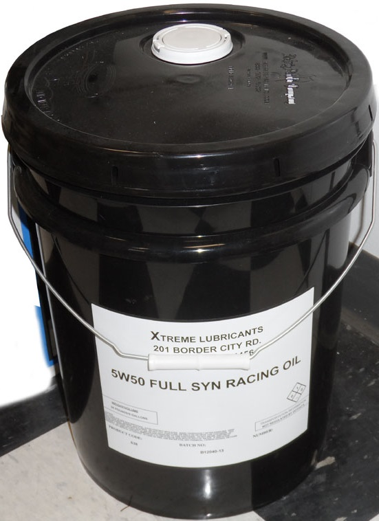 5 GAL 5 w 50 FULL SYNTHETIC ENGINE  OIL