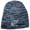 BLACK & GREY MARLED TOQUE