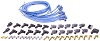Blue Max Ignition Wire Set - Blue