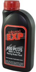 CASE OF 20 16.9oz  WILWOOD 600 BRAKE  FLUID