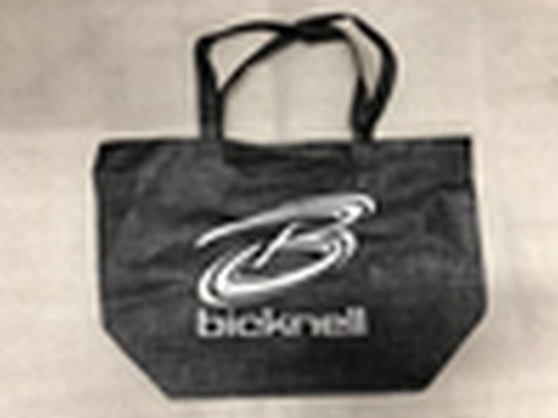 CROSS HATCHED NON-WOVEN TOTE BAG