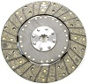 Clutch Disc, 200 Series, 10-1/2 in Diameter, 1-1/8