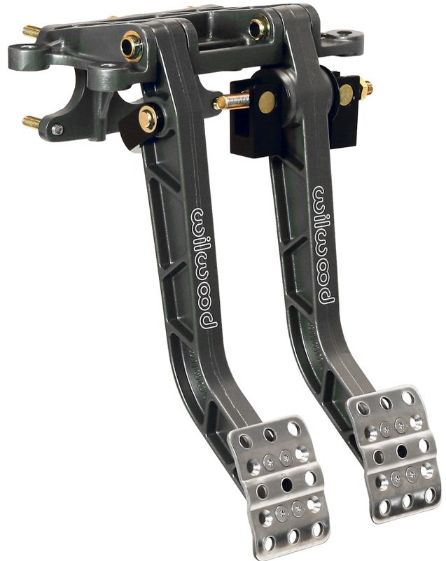 FORWARD MOUNT ADJUSTABLE DUAL PEDAL
