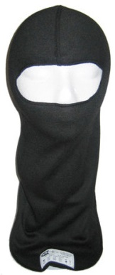 Head Sock, Single Eyeport - BLACK BELCLAVA