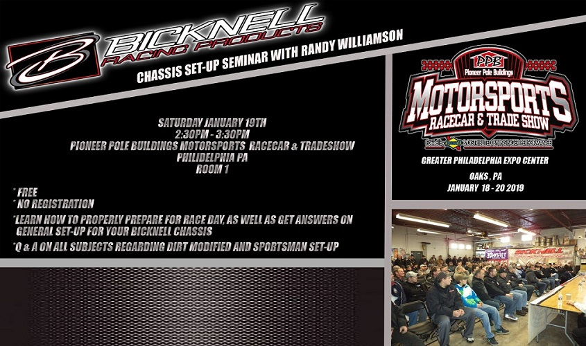 SEMINAR ANNOUNCED FOR MOTORSPORTS TRADESHOW