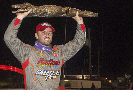 MCCREADIE TAKES HOME GATOR AT DIRTCAR NATIONALS