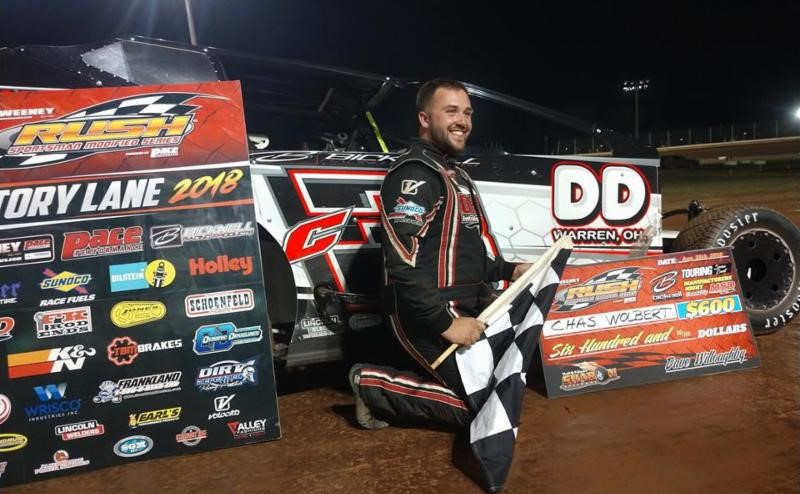 CHAS WOLBERT GRABS 1ST BICKNELL TOUR RACE