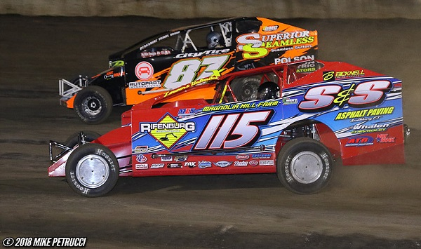 Tremont Switches to Bicknell, Earns 131st Valley Modified Victory